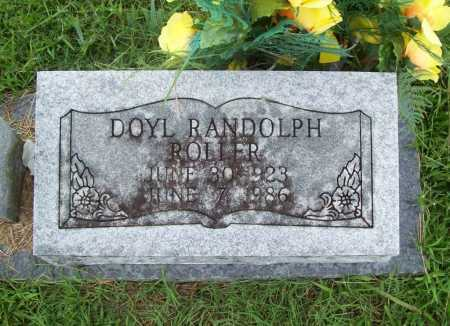 ROLLER, DOYL RANDOLPH - Benton County, Arkansas | DOYL RANDOLPH ROLLER - Arkansas Gravestone Photos