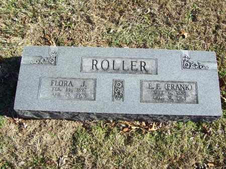 ROLLER, FLORA JANE - Benton County, Arkansas | FLORA JANE ROLLER - Arkansas Gravestone Photos