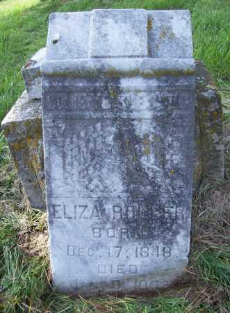 ROLLER, ELIZA - Benton County, Arkansas | ELIZA ROLLER - Arkansas Gravestone Photos