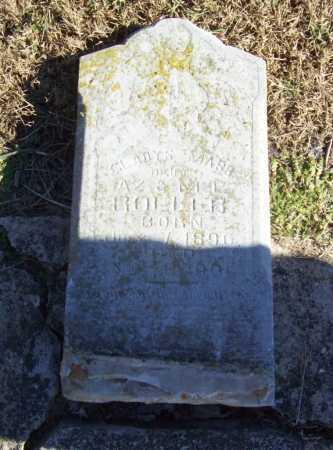ROLLER, GLADYS MABB? - Benton County, Arkansas | GLADYS MABB? ROLLER - Arkansas Gravestone Photos