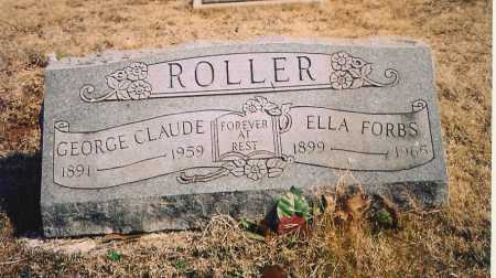 ROLLER, GEORGE CLAUDE - Benton County, Arkansas | GEORGE CLAUDE ROLLER - Arkansas Gravestone Photos