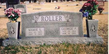 ROLLER, MAMIE L. - Benton County, Arkansas | MAMIE L. ROLLER - Arkansas Gravestone Photos