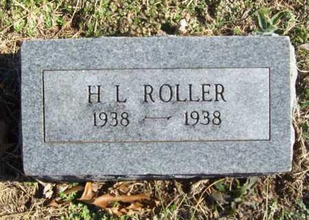 ROLLER, H. L. - Benton County, Arkansas | H. L. ROLLER - Arkansas Gravestone Photos