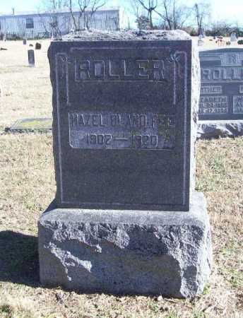 ROLLER, HAZEL BLAND FEE - Benton County, Arkansas | HAZEL BLAND FEE ROLLER - Arkansas Gravestone Photos