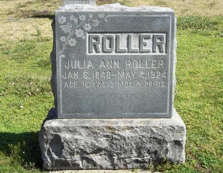 ROLLER, JULIA ANN - Benton County, Arkansas | JULIA ANN ROLLER - Arkansas Gravestone Photos