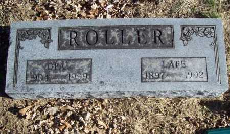 ROLLER, LAFE - Benton County, Arkansas | LAFE ROLLER - Arkansas Gravestone Photos