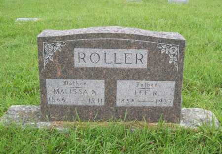 ROLLER, LEE R. - Benton County, Arkansas | LEE R. ROLLER - Arkansas Gravestone Photos
