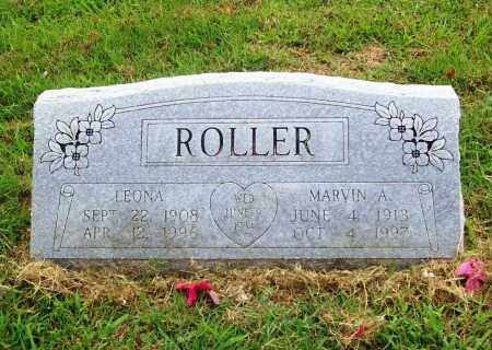 ROLLER, MARVIN A. - Benton County, Arkansas | MARVIN A. ROLLER - Arkansas Gravestone Photos