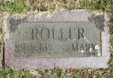 ROLLER, MARY ELLEN (FOOTSTONE) - Benton County, Arkansas | MARY ELLEN (FOOTSTONE) ROLLER - Arkansas Gravestone Photos