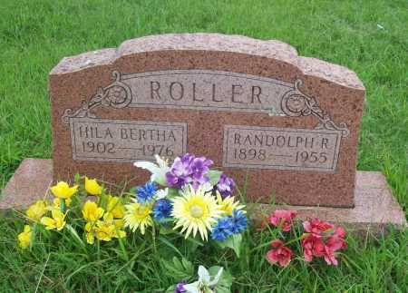 ROLLER, HILA BERTHA - Benton County, Arkansas | HILA BERTHA ROLLER - Arkansas Gravestone Photos