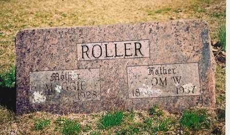 ROLLER, MAGGIE - Benton County, Arkansas | MAGGIE ROLLER - Arkansas Gravestone Photos