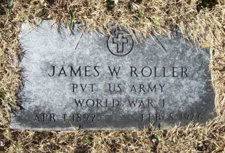 ROLLER (VETERAN WWI), JAMES W - Benton County, Arkansas | JAMES W ROLLER (VETERAN WWI) - Arkansas Gravestone Photos