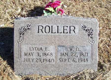 ROLLER, W. D. - Benton County, Arkansas | W. D. ROLLER - Arkansas Gravestone Photos