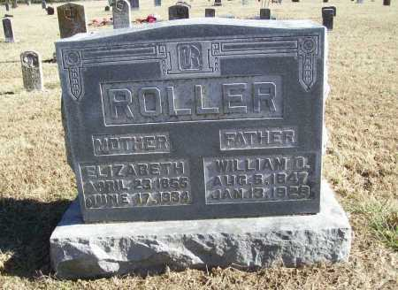 ROLLER, WILLIAM D. - Benton County, Arkansas | WILLIAM D. ROLLER - Arkansas Gravestone Photos