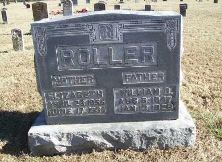 ROLLER, ELIZABETH - Benton County, Arkansas | ELIZABETH ROLLER - Arkansas Gravestone Photos