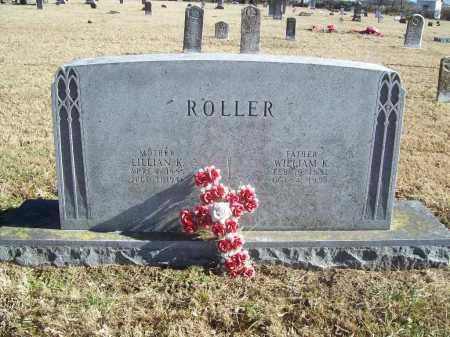 ROLLER, WILLIAM K. - Benton County, Arkansas | WILLIAM K. ROLLER - Arkansas Gravestone Photos