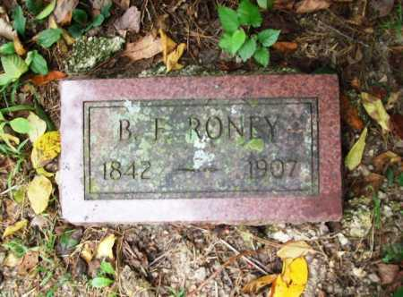 RONEY, B. F. - Benton County, Arkansas   B. F. RONEY - Arkansas Gravestone Photos