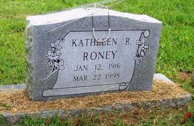 RONEY, KATHLEEN R. - Benton County, Arkansas | KATHLEEN R. RONEY - Arkansas Gravestone Photos