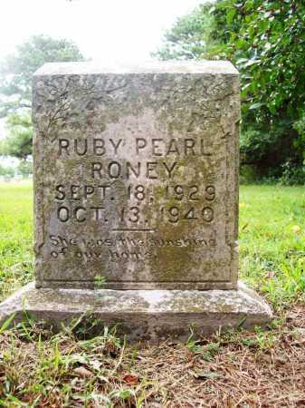 RONEY, RUBY PEARL - Benton County, Arkansas | RUBY PEARL RONEY - Arkansas Gravestone Photos