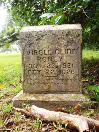 RONEY, VIRGLE CLIDE - Benton County, Arkansas | VIRGLE CLIDE RONEY - Arkansas Gravestone Photos