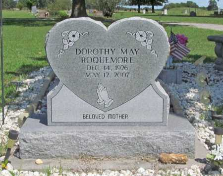 BLAKE ROQUEMORE, DOROTHY MAE - Benton County, Arkansas | DOROTHY MAE BLAKE ROQUEMORE - Arkansas Gravestone Photos