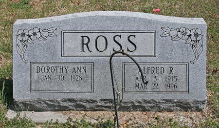 ROSS, ALFRED RAYMOND - Benton County, Arkansas | ALFRED RAYMOND ROSS - Arkansas Gravestone Photos