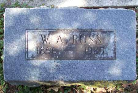 ROSS, W. A. - Benton County, Arkansas | W. A. ROSS - Arkansas Gravestone Photos