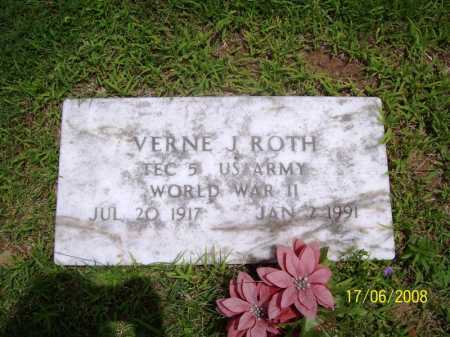 ROTH (VETERAN WWII), VERNE J. - Benton County, Arkansas | VERNE J. ROTH (VETERAN WWII) - Arkansas Gravestone Photos
