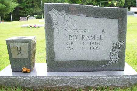 ROTRAMEL, EVERETT A. - Benton County, Arkansas | EVERETT A. ROTRAMEL - Arkansas Gravestone Photos