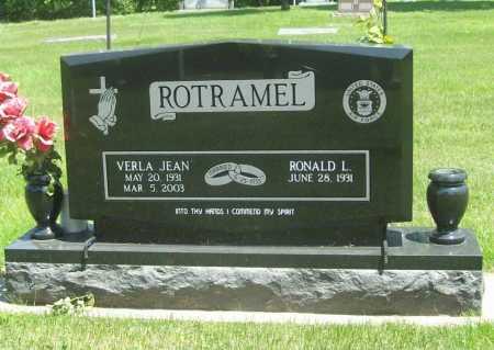 ROTRAMEL, VERLA JEAN - Benton County, Arkansas | VERLA JEAN ROTRAMEL - Arkansas Gravestone Photos