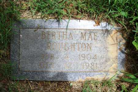 ROUGHTON, BERTHA MAE - Benton County, Arkansas | BERTHA MAE ROUGHTON - Arkansas Gravestone Photos