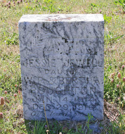 ROUGHTON, JESSIE JEWELL - Benton County, Arkansas | JESSIE JEWELL ROUGHTON - Arkansas Gravestone Photos