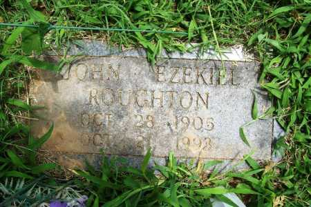 ROUGHTON, JOHN EZEKIEL - Benton County, Arkansas | JOHN EZEKIEL ROUGHTON - Arkansas Gravestone Photos