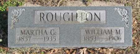 ROUGHTON, WILLIAM M. - Benton County, Arkansas | WILLIAM M. ROUGHTON - Arkansas Gravestone Photos