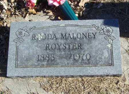 ROYSTER, RHODA - Benton County, Arkansas | RHODA ROYSTER - Arkansas Gravestone Photos