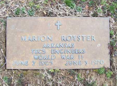 ROYSTER (VETERAN WWII), MARION - Benton County, Arkansas | MARION ROYSTER (VETERAN WWII) - Arkansas Gravestone Photos