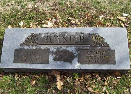 ROYSTER, WRIGHT - Benton County, Arkansas | WRIGHT ROYSTER - Arkansas Gravestone Photos