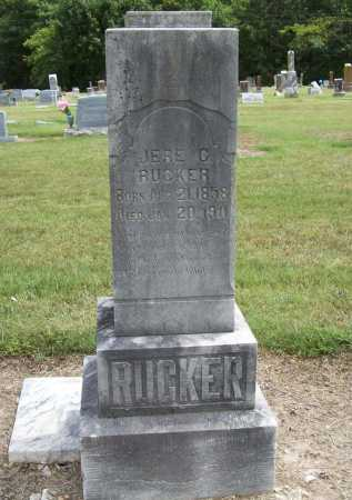 RUCKER, JERE C. - Benton County, Arkansas | JERE C. RUCKER - Arkansas Gravestone Photos