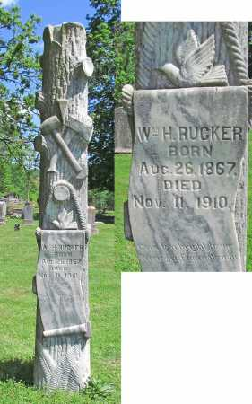 RUCKER, WILLIAM H - Benton County, Arkansas | WILLIAM H RUCKER - Arkansas Gravestone Photos