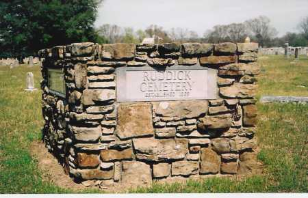 *RUDDICK CEMETERY,  - Benton County, Arkansas |  *RUDDICK CEMETERY - Arkansas Gravestone Photos