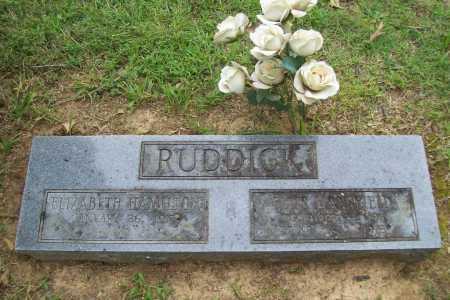 RUDDICK, ELLIS MANSFIELD - Benton County, Arkansas | ELLIS MANSFIELD RUDDICK - Arkansas Gravestone Photos