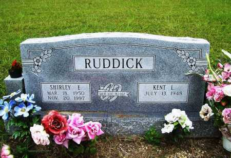 RUDDICK, SHIRLEY E. - Benton County, Arkansas | SHIRLEY E. RUDDICK - Arkansas Gravestone Photos