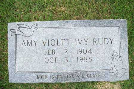 RUDY, AMY VIOLET - Benton County, Arkansas | AMY VIOLET RUDY - Arkansas Gravestone Photos