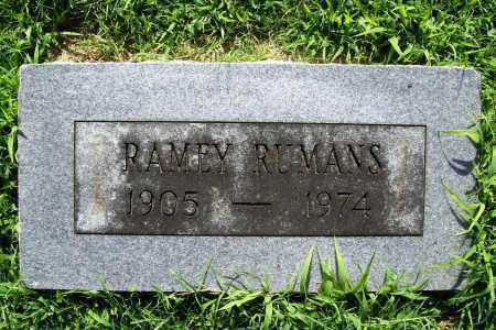 RUMANS, RAMEY - Benton County, Arkansas | RAMEY RUMANS - Arkansas Gravestone Photos
