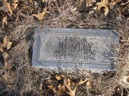 RUMLEY, FRANK - Benton County, Arkansas | FRANK RUMLEY - Arkansas Gravestone Photos
