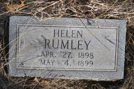 RUMLEY, HELEN - Benton County, Arkansas | HELEN RUMLEY - Arkansas Gravestone Photos
