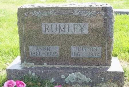 RUMLEY, ANNIE - Benton County, Arkansas | ANNIE RUMLEY - Arkansas Gravestone Photos