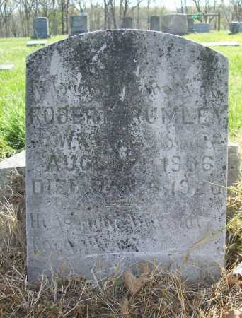 RUMLEY, ROBERT - Benton County, Arkansas | ROBERT RUMLEY - Arkansas Gravestone Photos