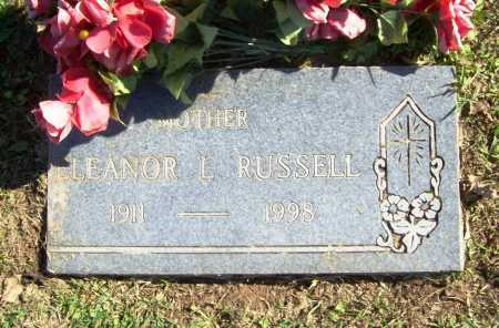 RUSSELL, ELEANOR L. - Benton County, Arkansas | ELEANOR L. RUSSELL - Arkansas Gravestone Photos