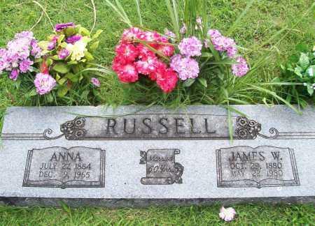 RUSSELL, ANNA - Benton County, Arkansas | ANNA RUSSELL - Arkansas Gravestone Photos